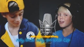 Justin Bieber ft. Big Sean - As Long As You Love Me(Johnny Orlando & Carson Lueders cover)