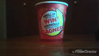Tim Hortons roll up the rim to Win 2017 part 31