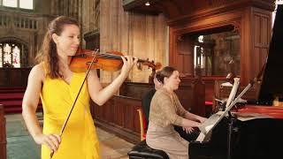 Live Lunchtime Concert: Boglárka György, violin & Amy Butler, piano
