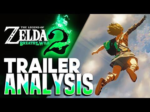 Breath of the Wild's Sequel - E3 2021 Trailer Analysis / Breakdown