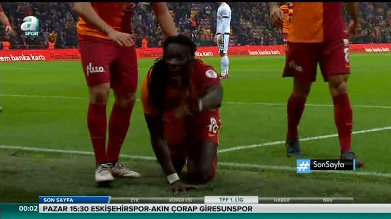 Galatasaray 4-1 Atiker Konyaspor | ZTK Çeyrek Final Rövanş Özet | 08.02.2018 A Spor