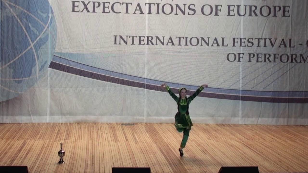 """Великолепное исполнение на международном конкурсе. Танец """"Горянка"""". Магомедова Анис"""