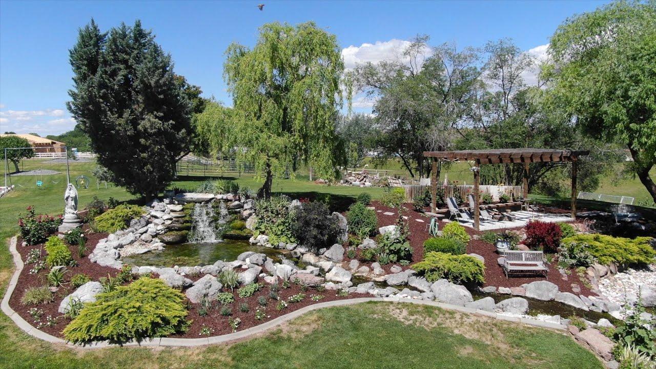Planting Around Our Neighbor's Pond! 🤝🌿💚 // Garden Answer