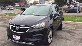 2018 Buick Encore FWD Apple Car Play Black Oshawa ON Stock #180310