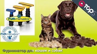 Фурминатор для кошек и собак | Магазин TOPS