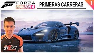FORZA HORIZON 4 #1 | PRIMERAS CARRERAS | GTro_stradivar Gameplay Español