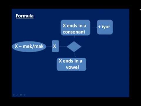 Online Turkish Lessons - Lesson #10