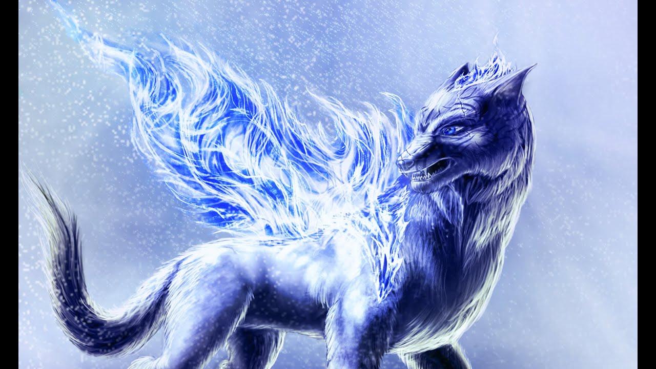 Winter Wolf 'speed Drawing'