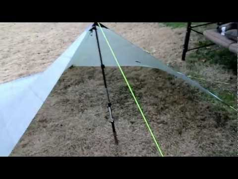 How I Storm Pitch My Tarp