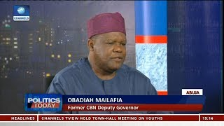 Obadiah Mailafia Laments Nigeria's Rising Debt Profile   Politics Today  