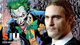 Joaquin Phoenix Might Play The Joker! Plus Venom Trailer Release - SJU