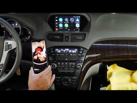 2013 2014 Acura MDX VLine VL2 Spotify Web Radio Pandora Google Maps Android Auto CarPlay Demo