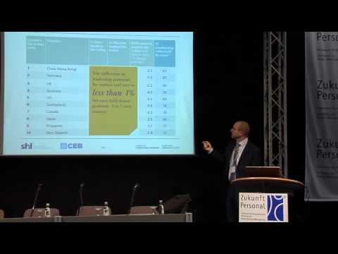 How do more women succeed to senior positions? HRM Expo 2013, Alexander Ratzel