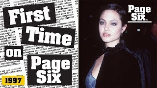 Angelina Jolie on Filming Her Lesbian Sex Scenes with Elizabeth Mitchell in 1998s Gia  Page Six