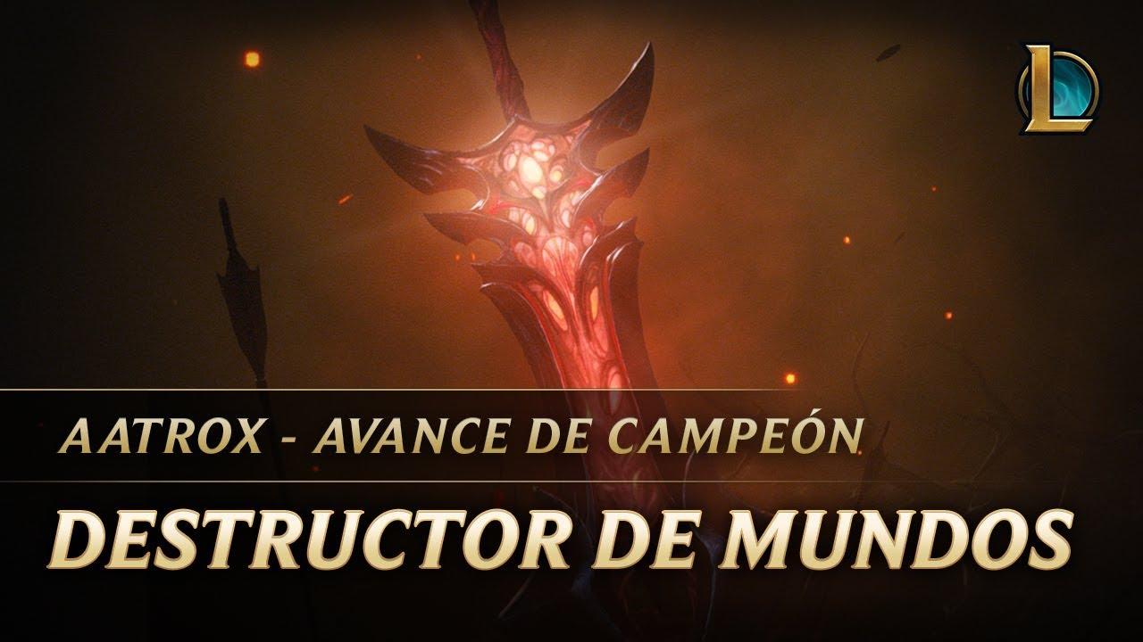 Aatrox: Destructor de mundos | Avance de campeón | League of Legends