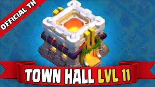 "Clash of Clans Official Town Hall 11 Look & UPDATE REVEAL! ""TOWN HALL 11 + NEW HERO + NEW DEFENSE!"""