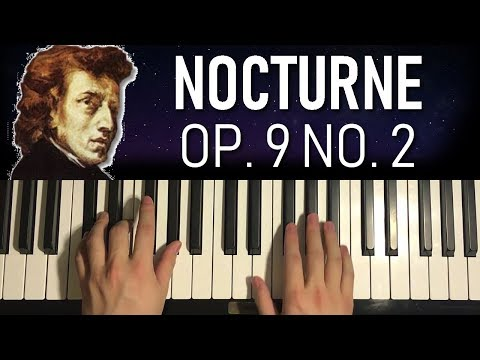 Chopin - Nocturne Op.9 No.2 (Piano Tutorial Lesson)