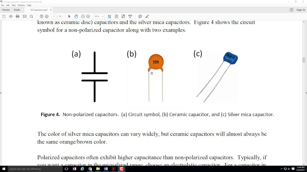 ECE 100 Reading Capacitor Values Lesson - YouTube