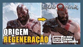 DESCOBRIMOS A POSSÍVEL ORIGEM DA REGENERAÇÃO DE KRATOS [God of War]