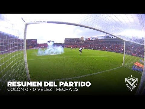 Superliga 2018   Fecha 22   Colón SF - Vélez (suspendido)