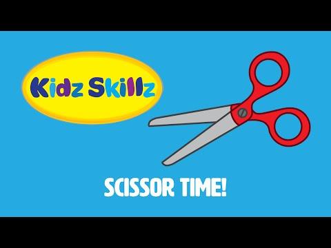 Kidz Skillz Presents: Scissor Time!