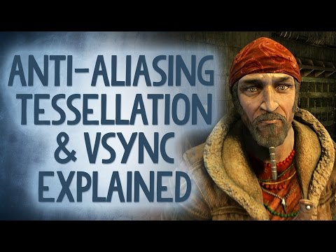 PC GFX Explained! Antialiasing, Vsync, Tessellation and More! - Reality Check