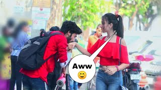 Prank on cute girls! In india! Comment trolling on girls!