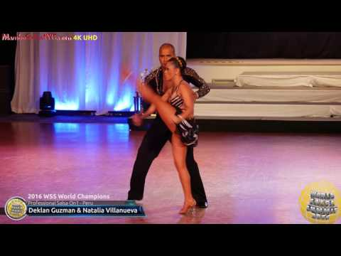 WSS16 Professional Salsa On1 World Champions Deklan Guzman &