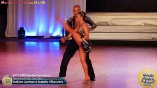 WSS16 Professional Salsa On1 World Champions Deklan Guzman & Natalia Villanueva