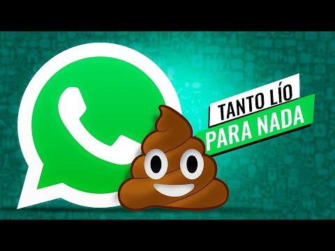 WhatsApp se ARREPIENTE!!!