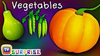 Surprise Eggs Learn Vegetables for Kids with Names | Pumpkin,Cucumber & more | ChuChuTV Egg Surprise