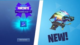 *NEW* FREE EQUALIZER GLIDER IN FORTNITE! 14 days of Fortnite Final Gift..!