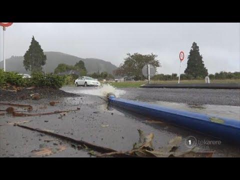 Rotorua flooding aftermath clean-up begins