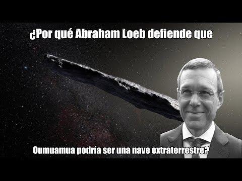 ¿Por qué dice Abraham Loeb que nos ha visitado una nave extraterrestre?