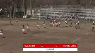 USA Rugby South vs. TRU Motley Crew