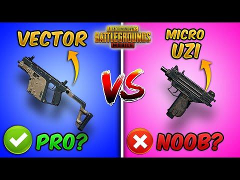 Vector vs Micro UZI Ultimate Weapon Comparison (PUBG MOBILE) Which one is Better For Close Range?