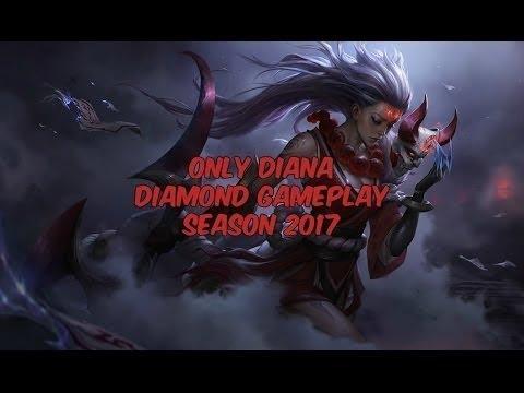 Diana Diamond Assassin Jungle Gameplay [NA] - 860k Mastery - Patch 7.12
