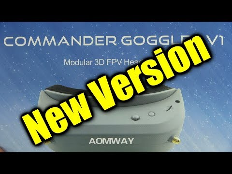 Review: AOMWAY Commander FPV video glasses (updated version)
