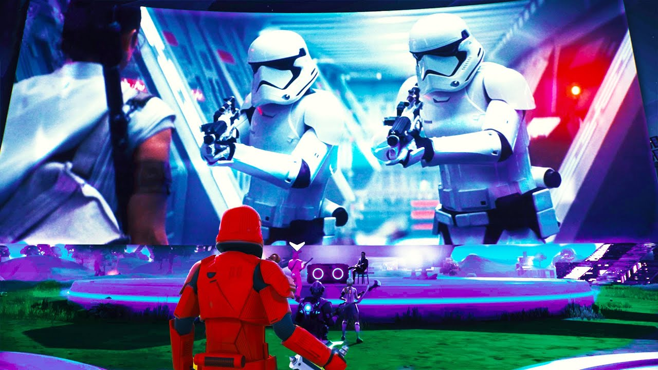 Fortnite Star Wars Challenges First Order Stormtrooper Fortnite S Star Wars Event Added Lightsabers To The Game Here S How To Get One Cnet