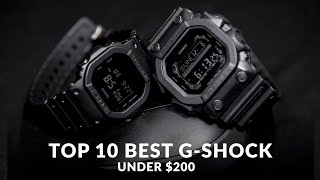 TOP 10 BEST CASIO G-SHOCK UNDER $200 YOU CAN BUY
