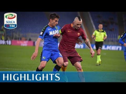 Roma - Sassuolo - 3-1 - Highlights - Giornata 29 - Serie A TIM 2016/17