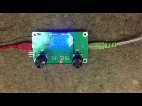 Banggood - DSP & PLL Digital Stereo FM Radio Receiver Module 87-108MHz With Serial Control