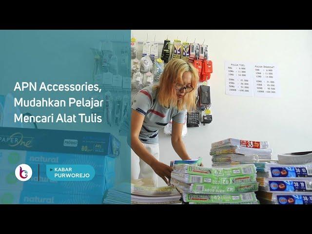 APN Accessories, Mudahkan Pelajar Mencari Alat Tulis