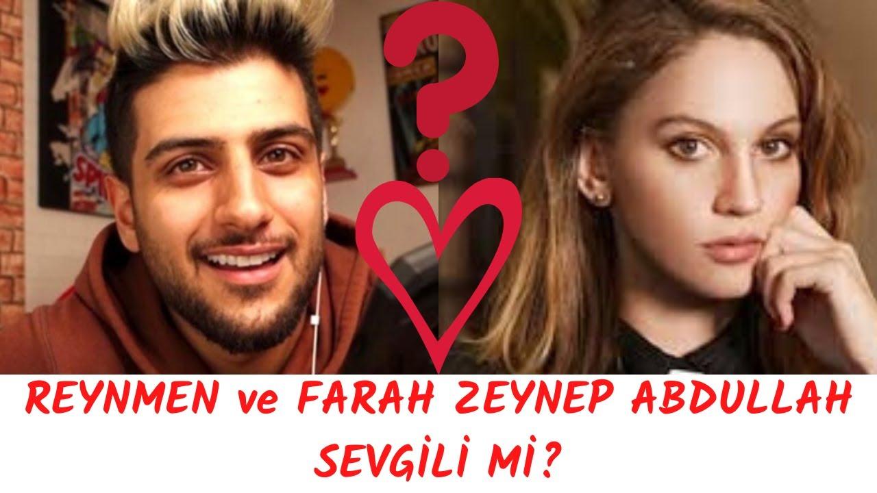 Reynmen In Yeni Sevgilisi Farah Zeynep Abdullah Mi Youtube