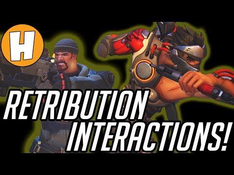 Overwatch Retribution Interactions - ALL Conversations! | Hammeh