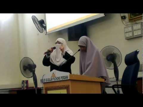 Ummu Muhammad Isteri As Syahid Dr Abdul Aziz Ar Rantisi di Masjid As Salam.mp4