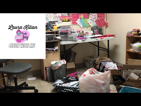 Speed Clean with me, My Messy Office