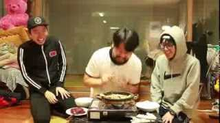 [돌판 삼겹살 먹기] - Stone pan eating pork 쿠쿠크루(Cuckoo Crew)