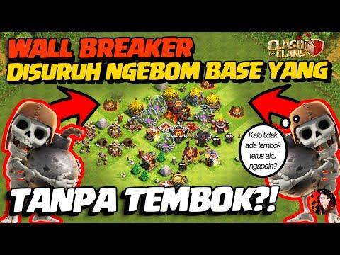 Apa Yang Terjadi Jika WB Menyerang Base Tanpa TEMBOK!? - CoC Indonesia