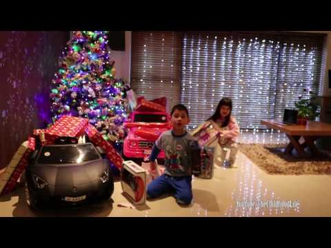 Christmas Morning 2016  Kids Opening Presents | Magical Moment of the year TheChildhoodlife